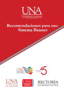 Recomendaciones para uso Sistema Banner