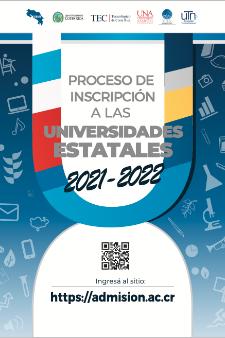 Proceso de Inscripción a las universidades estatales 2021-2022